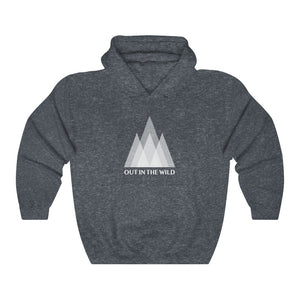 Out in the Wild Mountains Hooded Sweatshirt