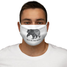 Load image into Gallery viewer, Snug-Fit  Wild Bear Polyester Face Mask