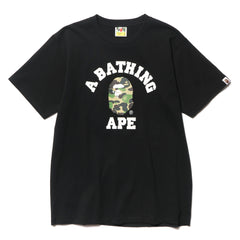 A BATHING APE ABC College Tee Black/Green