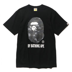 A BATHING APE Color Camo By Bathing Tee Black/Purple