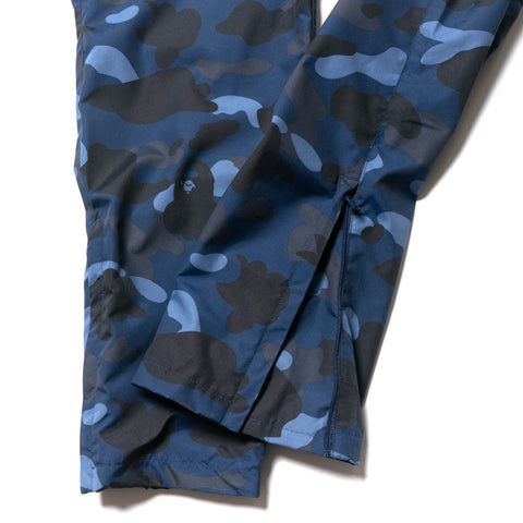 A BATHING APE Color Camo Track Pants Navy