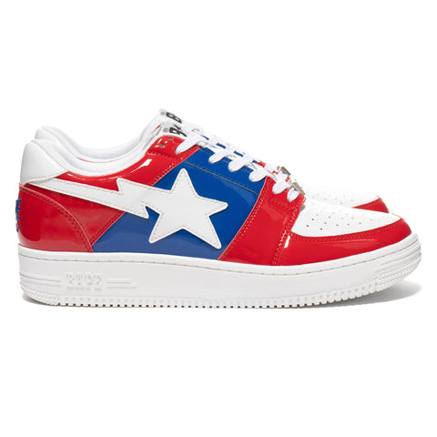 A BATHING APE Sta Low M2 Red