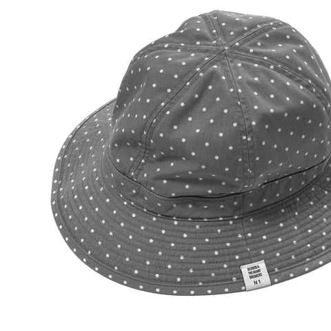 "Bedwin ""Devon"" OG Dot Military Hat"