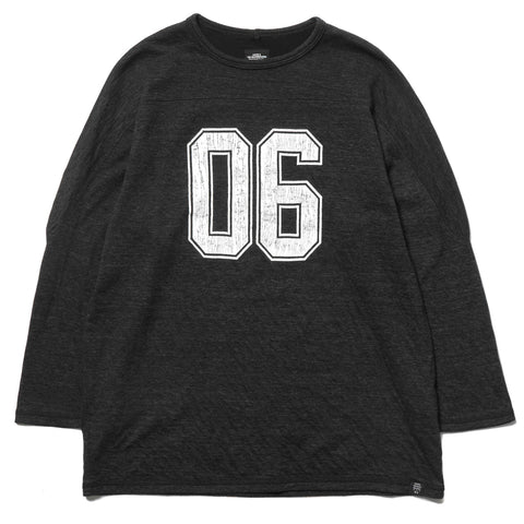 "Bedwin & The Heartbreakers x HAVEN ""Jackson"" L/S Football Tee Black"