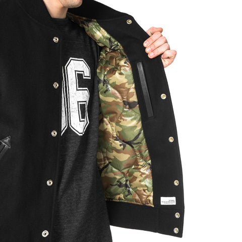 "Bedwin & The Heartbreakers x HAVEN ""Jerry"" Award Jacket Black"