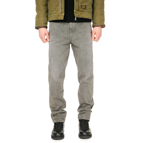 WTAPS Blues. Skinny. Trash / Trousers. Cotton. Denim. Trash Olive Drab