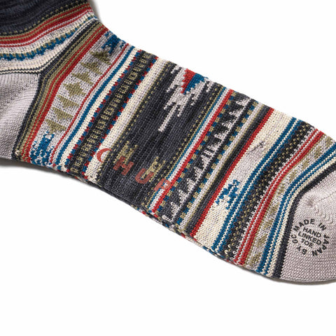 CHUP CHURRO Socks Charcoal