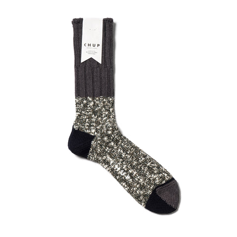 Chup White Label North Rim Sock Gray