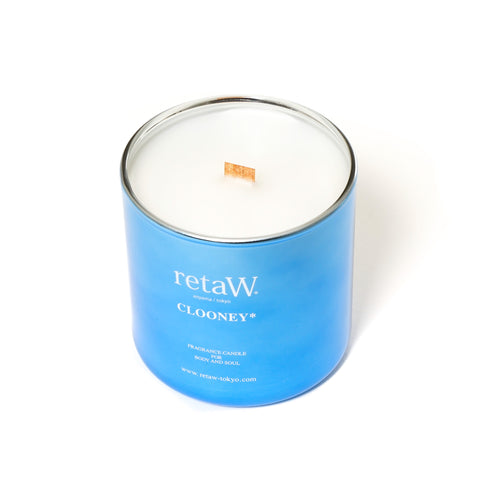 retaW Fragrance Candle Metallic Series Clooney