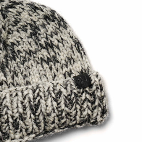 Maple Canadian Knit Toque Charcoal