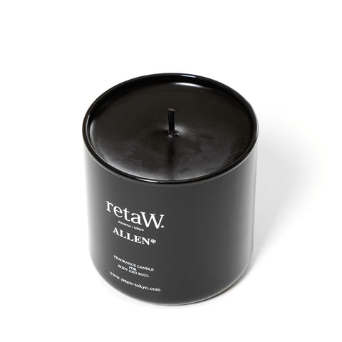 reatW Fragrance Candle Allen Black