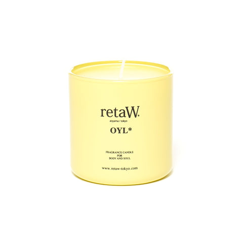 retaW Fragrance Candle Oyl