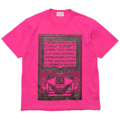 cav empt MD Materiality T Pink