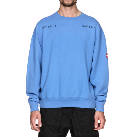 cav empt MD Sphere Light Crew Neck Blue