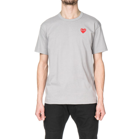 comme des garcons Red Emblem Tee Gray