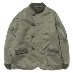 comme des garcons homme Cotton Herringbone Garment Treated Jacket
