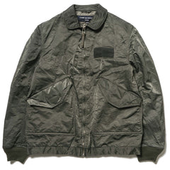 comme des garcons homme Garment Dyed Nylon High Density Twill Jacket