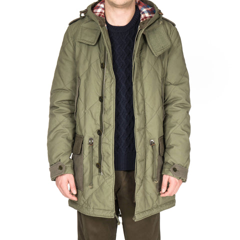 comme des garcons homme Garment Washed Cotton Canvas Coat