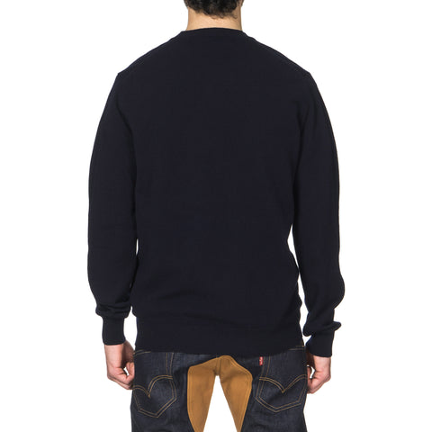 comme des garcons play Gold Emblem Knit Sweater Navy
