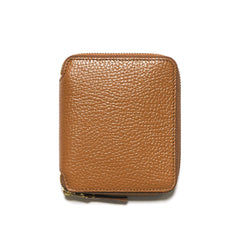 COMME des GARÇONS Colour Inside Full Zip Wallet Brown/Orange