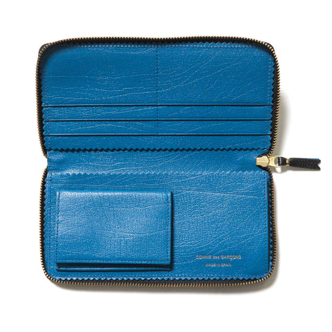 COMME des GARÇONS Colour Inside Long Wallet Black/Blue