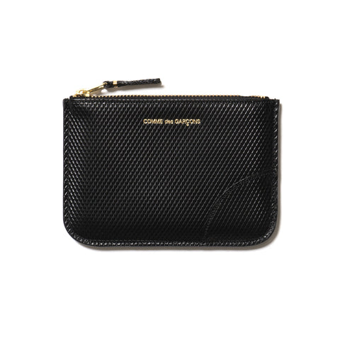 Comme des Garcons WALLET Luxury Group Zip Pouch Black, Accessories