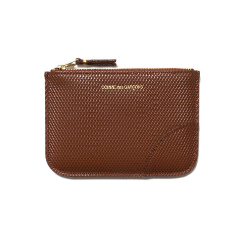 Luxury Group Zip Pouch Brown