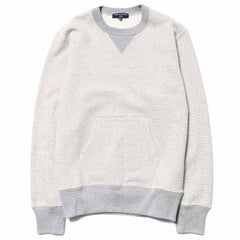 Comme des Garcons HOMME Cotton Jersey Border Crewneck Sweater