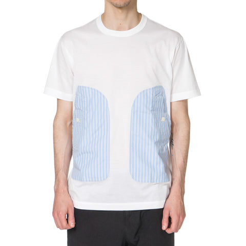 COMME DES GARCONS HOMME 2 Pockets Jersey Tee