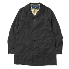 CdG HOMME Cotton Polyester Weather Coat Black