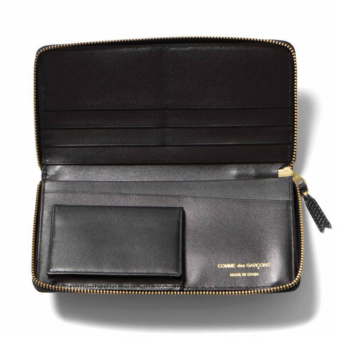 Comme des Garcons WALLET Luxury Group Leather Long Wallet Black