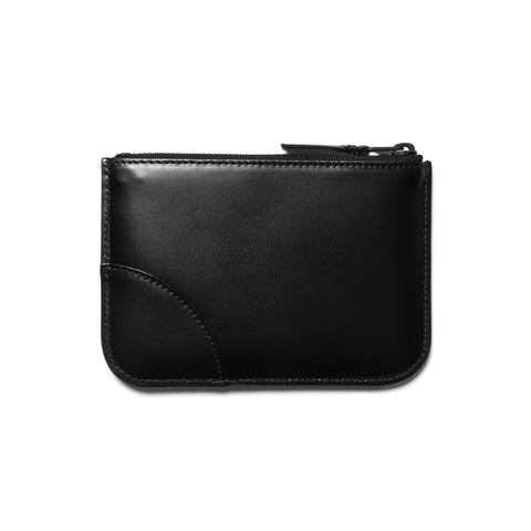comme des garcons wallet Very Black Line Zip Pouch