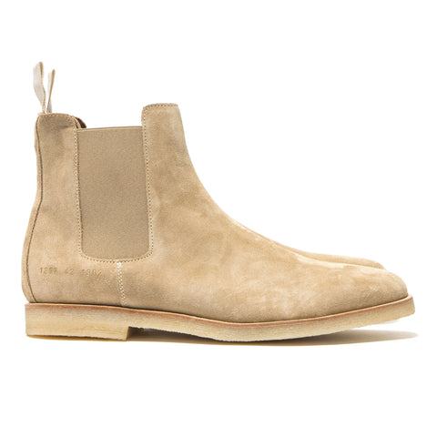 Common Projects Chelsea Boot in Suede Tan