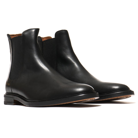 Common Projects Chelsea Leather Black