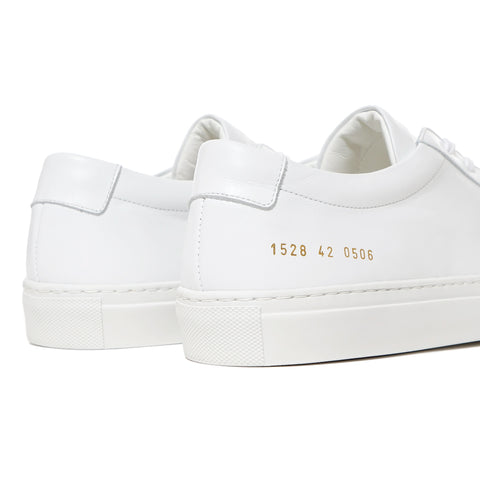 Common Projects Original Achilles Low White, Footwear