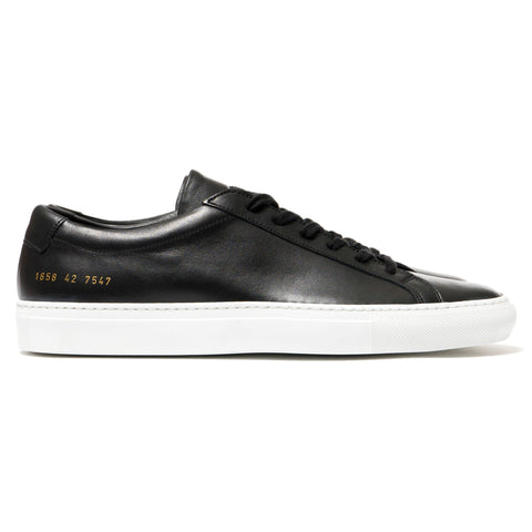 Common Projects Original Achilles Low w/White Sole Black