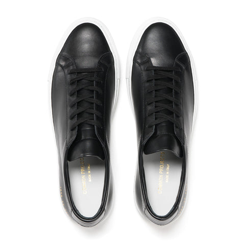 927df0f9c5a3b Common Projects Original Achilles Low w White Sole Black