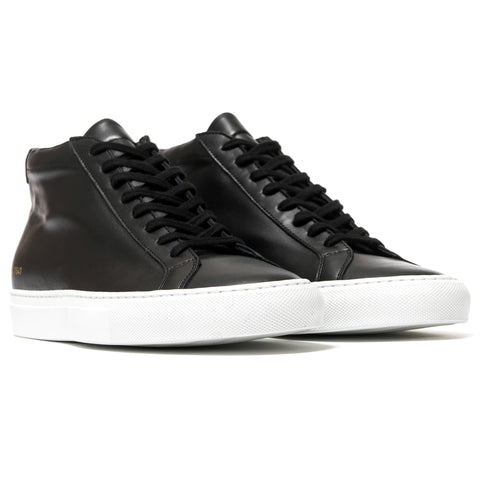 Common Projects Original Achilles Mid W/White Sole
