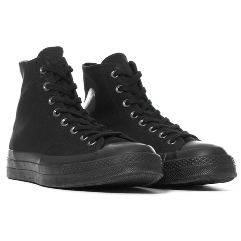 Converse Chuck Taylor All Star Canvas 1970's Hi Black Monochrome