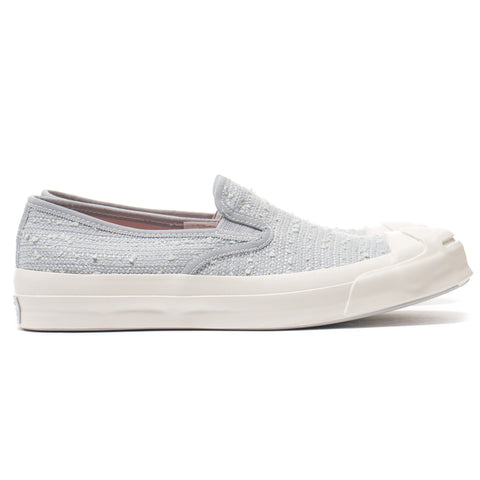 Converse First String x Bunney Jack Purcell Signature Slip On High Rise / Pink Dogwood