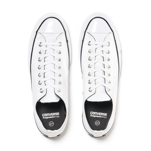 "Converse x Fragment Design Chuck Taylor All Star Canvas 1970's ""Tuxedo Pack"" White / White"