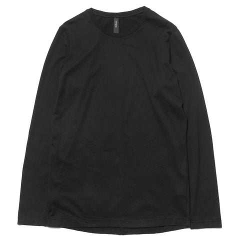 CYPRESS Base LS Jersey / Giza Cotton Black
