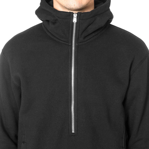 CYPRESS Heavyweight Anorak / Brushed Terry Black