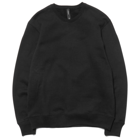 CYPRESS Heavyweight Crewneck / Brushed Terry Black