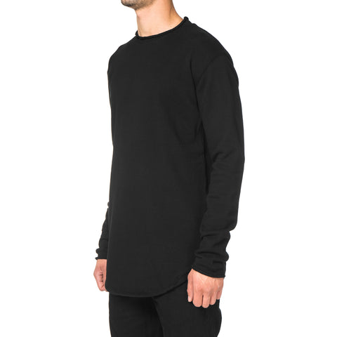 CYPRESS Lightweight LS Crewneck / French Terry Black