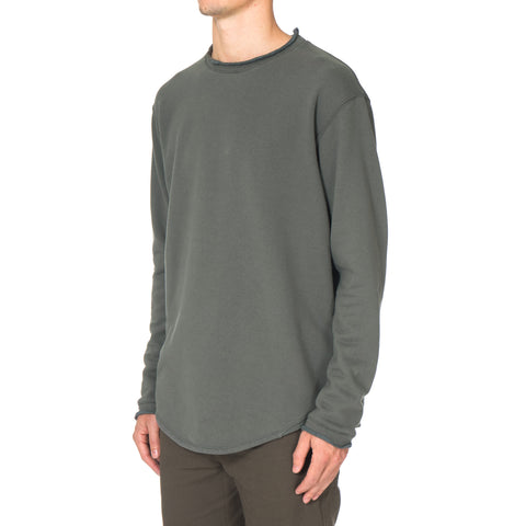 CYPRESS Lightweight LS Crewneck / French Terry Moss