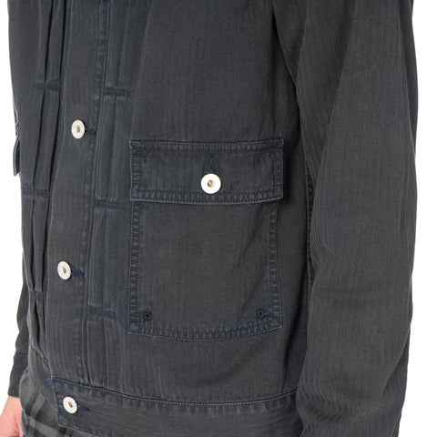 "deluxe ""Engineered"" Jackets Black"