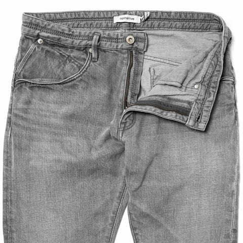 nonnative Dweller 5P Jeans - Cotton 12oz Color Denim VW Lt.Gray