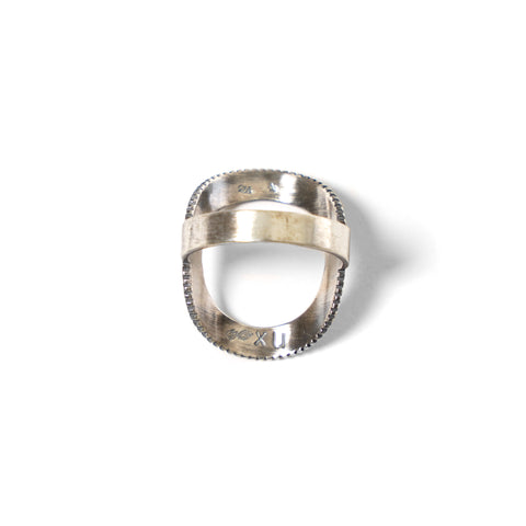"nonnative Dweller Ring ""Sun"" - 925 Silver by END"