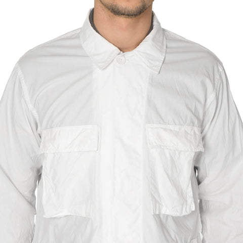 Engineered Garments BDU Jacket High Count Broadcloth White